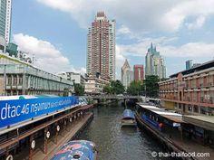 Anlegestelle in den Kanälen von Bangkok Bangkok, Thai Recipes, Den, Adventure, Thai Food Recipes