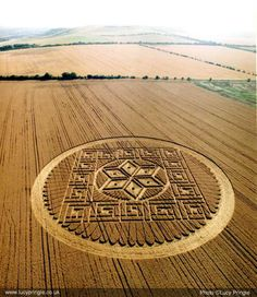 The crop circles which you see are used by those who seek to create diversion within the mind of man, and to look away from God, and instead to look to government for answers, and for help to bring these answers and to save mankind.  These circles are not created from anyone seeking to communicate with man from the stars, excepting those people and those forces which desire to rule over man, and to keep him in fear. (z11 of 12)
