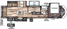 Wildwood Heritage Glen Fifth Wheels / Travel Trailers by Forest River RV