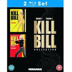BARGAIN Kill Bill: Vol. 1 and 2 [Blu-ray] NOW £7.20 At Amazon - Gratisfaction UK Bargains #killbill #bluray