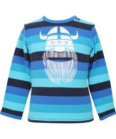 Danefæ onze must-have gestreepte Viking t-shirt, een tijdloze! #emilea