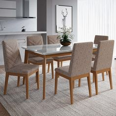 Dining Chairs, Dining Room, Dining Table, Dinning Set, Future House, Beautiful Homes, 3 D, New Homes, Interior Design