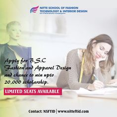 If you are looking for the best Fashion, Apparel & Interior Design,Decoration College in Bangalore, NITTEFTID is the right place to start your dream career. Interior Design Colleges, Decor Interior Design, Fashion Technology, Join Fashion, Dream Career, Apparel Design, Cool Style, How To Apply, The Unit