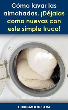 How to wash the pillows. Leave them as new with this simple trick! - Home Cleaning Tips Cleaning Recipes, House Cleaning Tips, Cleaning Hacks, Cleaning Grease, Cleaning Painted Walls, Laundry Hacks, Household Cleaners, Rubbing Alcohol, Cleaning Solutions