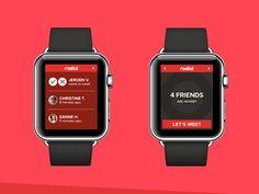 Smartwatch app Radial by Mark & Marten