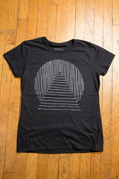 TRANSMISSION Black Ladies T-shirt