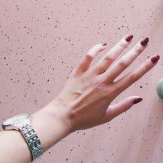 Nails on point. #nails #nail #fashion #style #envywear #cute #beauty #beautiful #instagood #pretty #girl #girls #stylish #styles #art #photooftheday #rosa #love #shiny #polish #nailpolish #nailswag #ikozosseg #mik #watch #pastel Point Nails, Nail Fashion, Swag Nails, Nail Polish, Pastel, Photo And Video, Watch, Stylish, Pretty