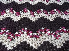 Ravelry: Lesianne's Yarn - Granny Ripple Afghan