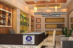 Small jewellery shop interior designed by Achahomes