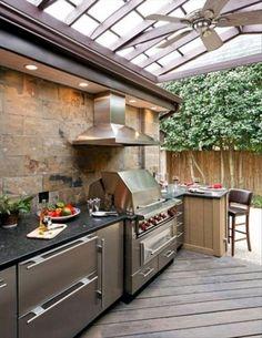 36 Outdoor Kitchen Design Ideas for Your Stunning Kitchen