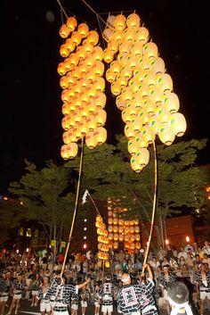 Akita Kanto Festival #akita #japan
