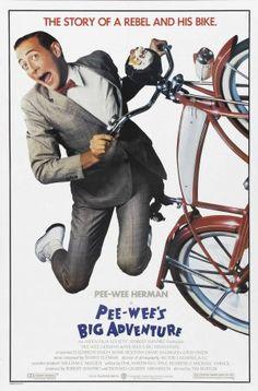 Pee-wee s Big Adventure 1985 by Tim Burton starring Paul Reubens as Pee-wee  Herman. Pee-wee s Big Adventure tells the story of Pee-wee Herman embarking  on ... b82b2f6b98316