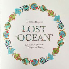 Lost Ocean by Johanna Basford title page fish