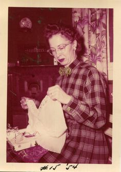 Vintage Photo..Merry Christmas Sweetheart, 1950's Original Found Photo, Vernacular Photography by iloveyoumorephotos on Etsy