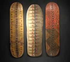 george peterson: recycled skateboard sculpture | Daily Art Muse