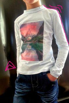 Tee shirt jersey pour little fashion boy - Pattern Free Little Fashion, Boy Fashion, Couture Sewing, Tee Shirts, Tees, Hoodies, Sweatshirts, Free Pattern, Blog