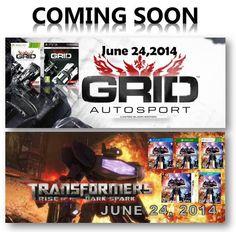 Up coming releases  Video Games Video Juegos a la venta para distribuidores, tiendas y mayoristas. Regístrese en nuestro sitio web www.latamgames.com