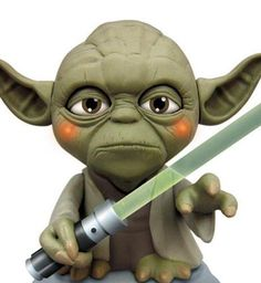Yoda | The USB Yoda is designed to sit on your desk, or perch on top of your ...
