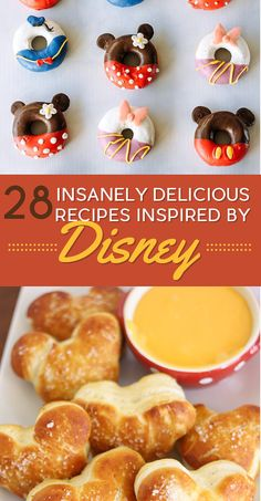 28 Insanely Delicious Disney-Inspired Recipes You Have To Try Disney = good. Disney food = GREAT The post 28 Insanely Delicious Disney-Inspired Recipes You Have To Try Disney = good. Cute Food, Good Food, Yummy Food, Delicious Recipes, Comida Disney, Bubble Cake, Disney Inspired Food, Disney Desserts, Disney Food Recipes