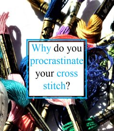 What's holding you back from starting or continuing with your project? Cross Stitch, Projects, Log Projects, Punto De Cruz, Blue Prints, Seed Stitch, Cross Stitches, Crossstitch, Punto Croce