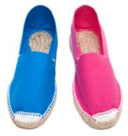 espadrilles - buy them in multiples at Spanish flea markets