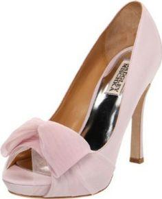 Pink (blush) wedding shoes for bridesmaids Blush Wedding Shoes, Blush Pink Weddings, Wedding Dresses, Lace Pumps, Badgley Mischka Shoes, Clear Heels, Pretty Shoes, Platform Pumps, Pump Shoes