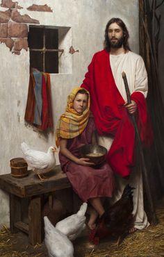 Jeff Heins Portfolio - Painting- History/Scripture