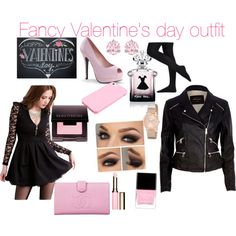 Fancy Valentine's day outfit