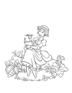 Disney Coloring Pages For Kids Printable Online Coloring 109