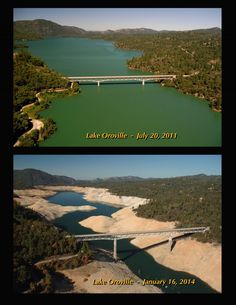 Visuals of the California drought