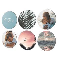 A sleek hexagon, the familiar square or a playful circle. Your wall decoration grows with you by adding shapes to your collage. Hallway Inspiration, Interior Stylist, Piece Of Cakes, Cool Tools, Best Memories, Montage, Tool Design, First Photo, Color Trends