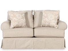 ASH-C-7820035 - Ashley Candlewick Linen Loveseat | Mathis Brothers Furniture