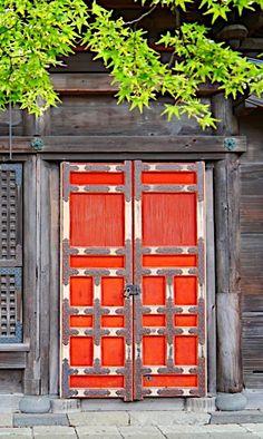 Door to Japanese Temple - from Pigen