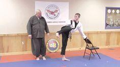 How to Improve Your High Kicking Skills in a Week : Hapkido & Taekwondo ...