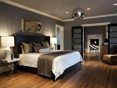 Small Master Bedroom Decorating Ideas With Decorative Lighting