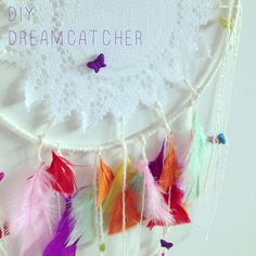DIY Dreamcatcher {happylittlekiwi}