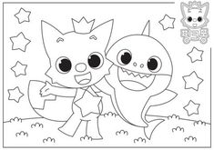 Baby Shark Coloring Page | crayola.com | Shark coloring ...