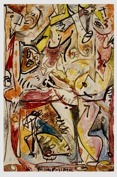 Jackson Pollock, The Blue Unconscious, 1946