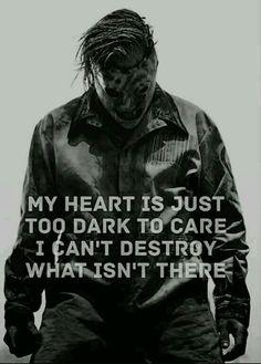 """Snuff"" by Slipknot Slipknot Quotes, Slipknot Lyrics, Slipknot Tattoo, Band Quotes, Lyric Quotes, Quotes Quotes, Qoutes, System Of A Down, Slipknot Corey Taylor"