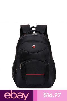 efedffb2e329 Men Backpacks Large Capacity Bookpack Laptop Back Pack Nylon Black School  Bags