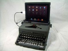 iPad USB Typewriter keyboard