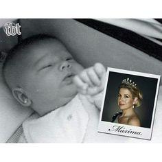 Tbt  When Queen Maxima was a baby  #maxima #baby #QueenMaxima #tbt