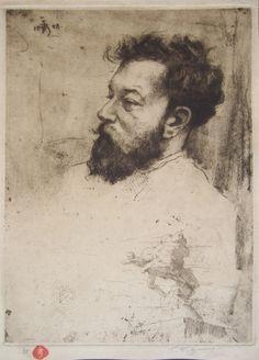 Tavik František Šimon: Portrait of the Sculptor Josef Maratka