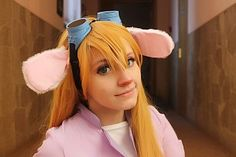Cosplay of Gadget Hackwrench from Chip 'n Dale Rescue Rangers, as worn by cosplayer Haruhi-tyan Epic Cosplay, Cosplay Outfits, Cosplay Costumes, Awesome Cosplay, Gadgets For Dad, Spy Gadgets, Electronics Gadgets, Bedroom Gadgets, Rescue Rangers