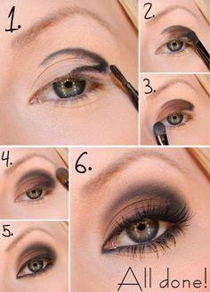 Maquillaje en marrón paso a paso #maquillajepasoapaso