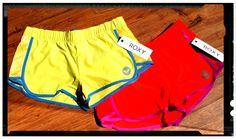 ROXY SHORTS!!! Para correr, para remar , para pasear... para disfrutar!!! Colores de verano en Bellini surf shop