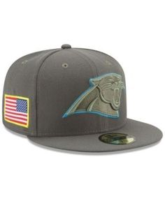c797626cf27 New Era Carolina Panthers Salute To Service 59FIFTY Fitted Cap   Reviews -  Sports Fan Shop By Lids - Men - Macy s