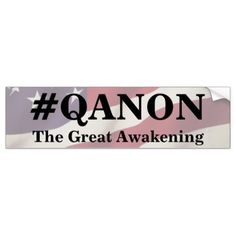 Q ANON decal deep state shadow government window sticker any color