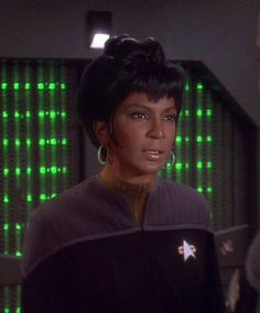 Lt. Uhura reassigned to DS9.