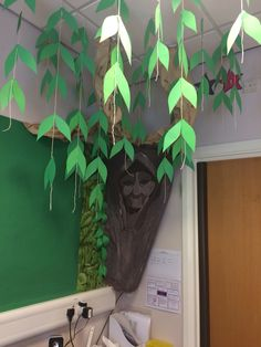 """Sometimes the right path is not always the easiest one""  My Grandmother Willow tree in my classroom. Designed to hang our rules and responsibilities from.   Children will write on a leaf what they think are the right things to do in the classroom / school e.g. Always be polite, and it will hang from the bottom of the willow branch.    Extending my love of Pocahontas into my classroom."